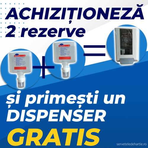 PROMO❗‎❗ Dezinfectant maini 1,3L  - 2buc + dispenser GRATUIT