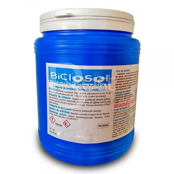 Biclosol -dezinfectant tablete cloramina