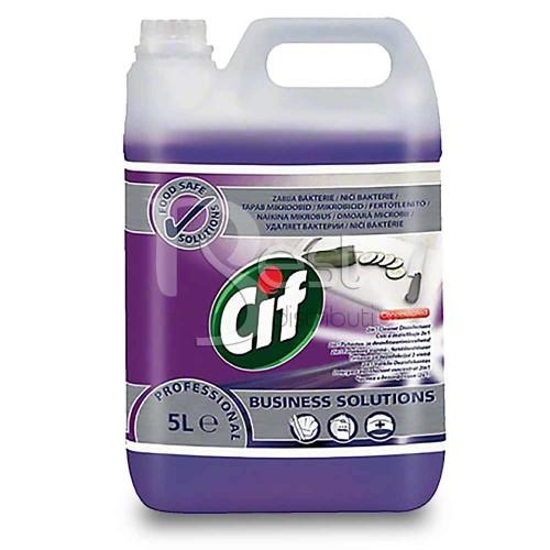 Cif profesional - detergent dezinfectant 2in1 la 5 L