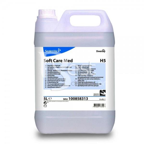 Dezinfectant pentru maini - Soft Care Med 5L