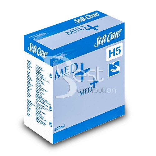 Dezinfectant pentru maini - Soft Care Med H5 800ml