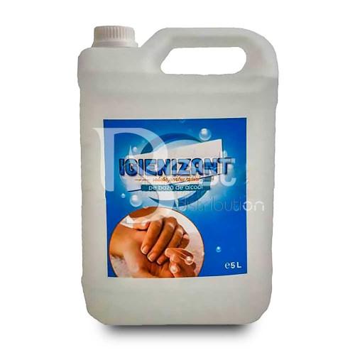 Igienizant - dezinfectant maini pe bază de alcool 5 litri