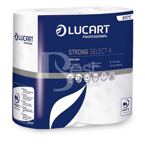 Hartie igienica Lucart strong select 4
