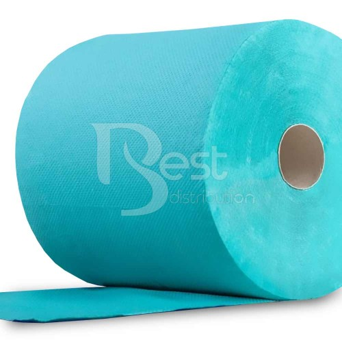 Rolă hârtie industrială, reciclat, VERDE