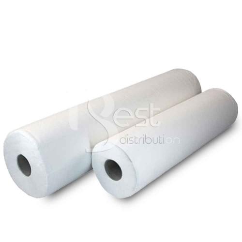 Rolă hârtie tip cearceaf, ALB, 60 cm x 50 m