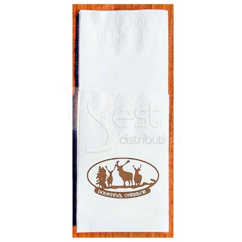 Servetele personalizate 33x33, 2str, tacam