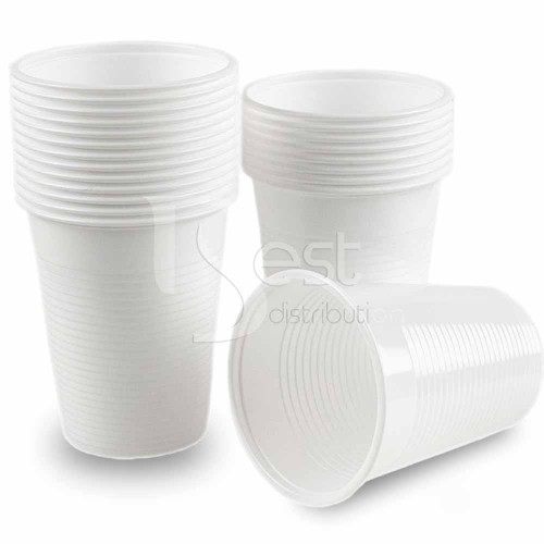 Pahare de plastic 200ml Premium