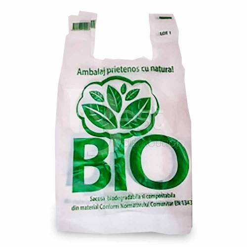 Pungi biodegradabile 8kg, 50 buc/set