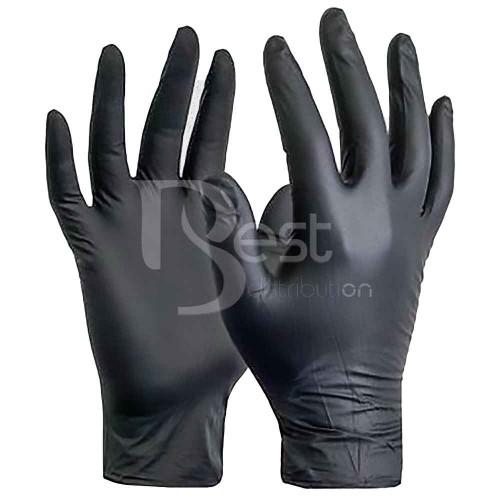 Manusi nitril negre, XL