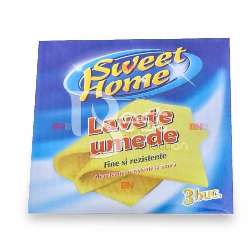 Lavete umede Sweet Home