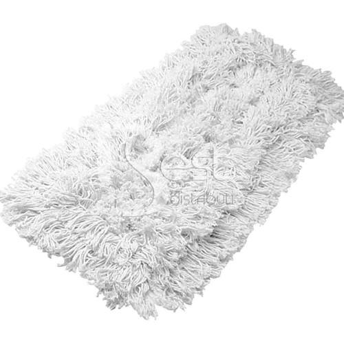 Rezerva mop plat din bumbac cu buzunare 40cm