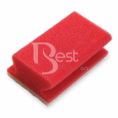Burete non abraziv rosu - Cod 7515479