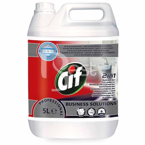 CIF PROFESIONAL-Detergent pentru baie 2in1  (5L)