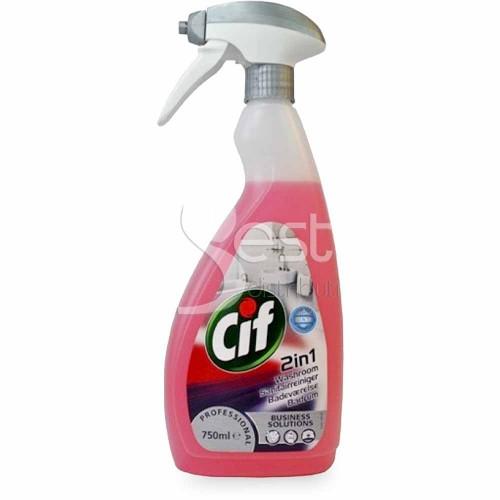 CIF PROFESIONAL-Detergent pentru baie 2in1 (750ml)