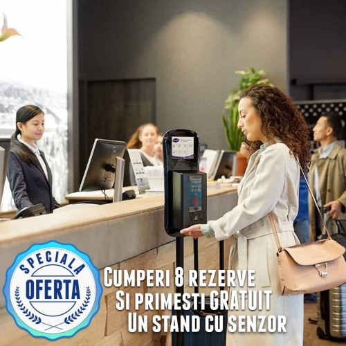 PROMOTIE!! Soft care med 1,3L - stand cu senzor gratuit