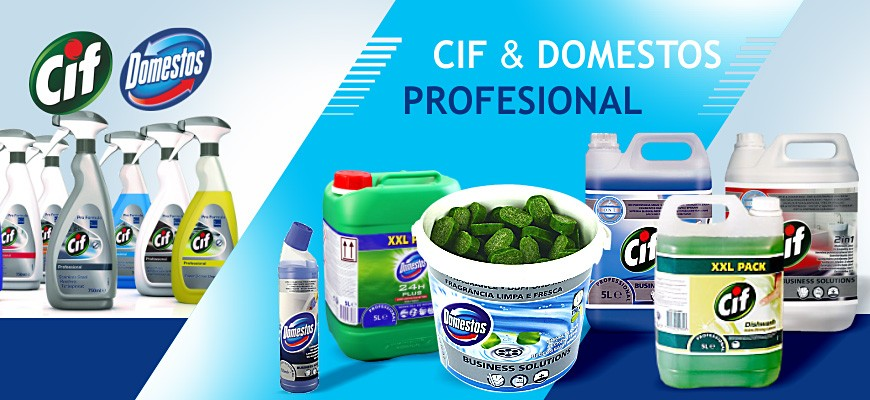 Cif & Domestos Profesional